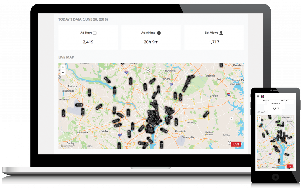 Play Octopus Live Rideshare Advertising Maps