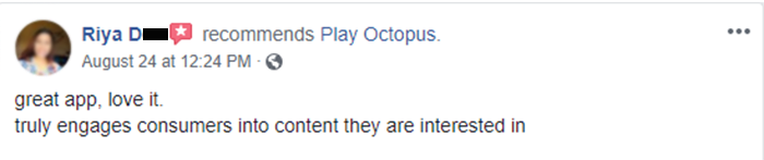 Play Octopus Review - Riya