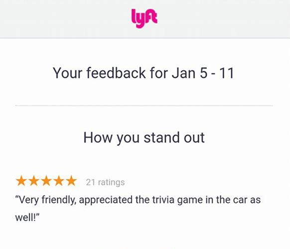 Play Octopus Rideshare Entertainment Review - Lyft