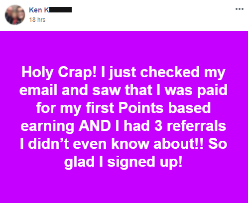 "Quote from Ken K, ""So glad I signed up!"""