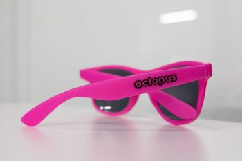 Side back view of Octopus sunglasses