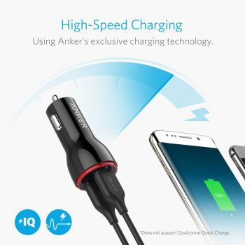 Anker charger high-speed charging demonstration