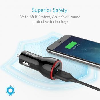 Anker charger with MultiProtect