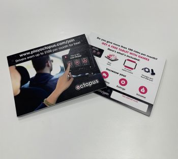 Referral cards for new drivers
