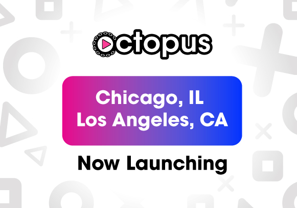Play Octopus Launch LA Chicago