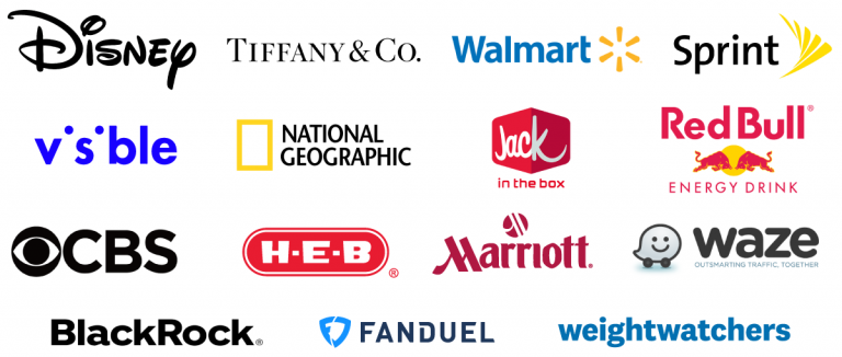 Logos of select brands that partner with Octopus
