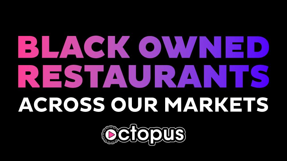 Octopus Black-owned Restaurants in markets